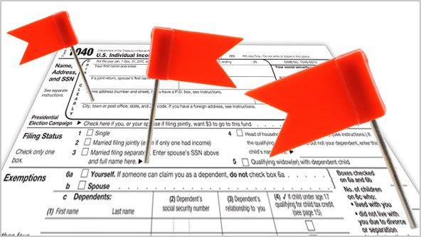 6 Red Flags That Might Get You Audited by the IRS