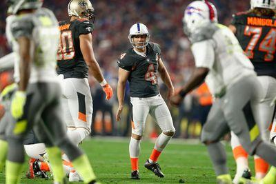 Adam Vinatieri says no kicker will be happy if Pro Bowl rules are applied