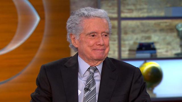"Regis Philbin on ""Late Late Show"" guest-host gig"