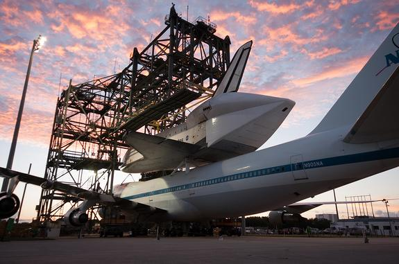 Shuttle Endeavour Set for Final Ferry Flight Wednesday, If Weather Allows