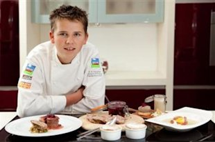 Luke Thomas, England's top teen chef. (Aero Media)