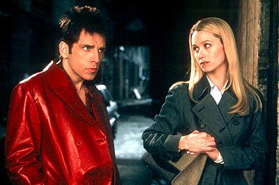 Ben Stiller and Christine Taylor in Paramount's Zoolander