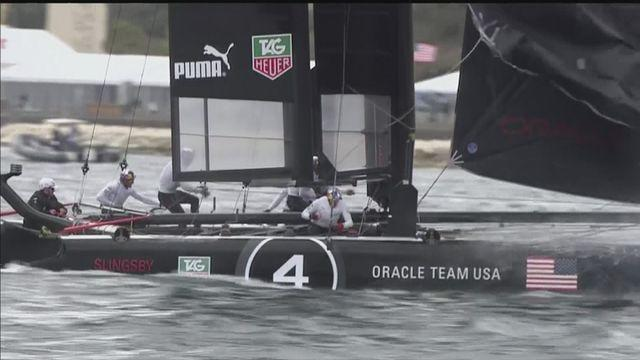 Oracle Team USA win America's Cup World Series Championship