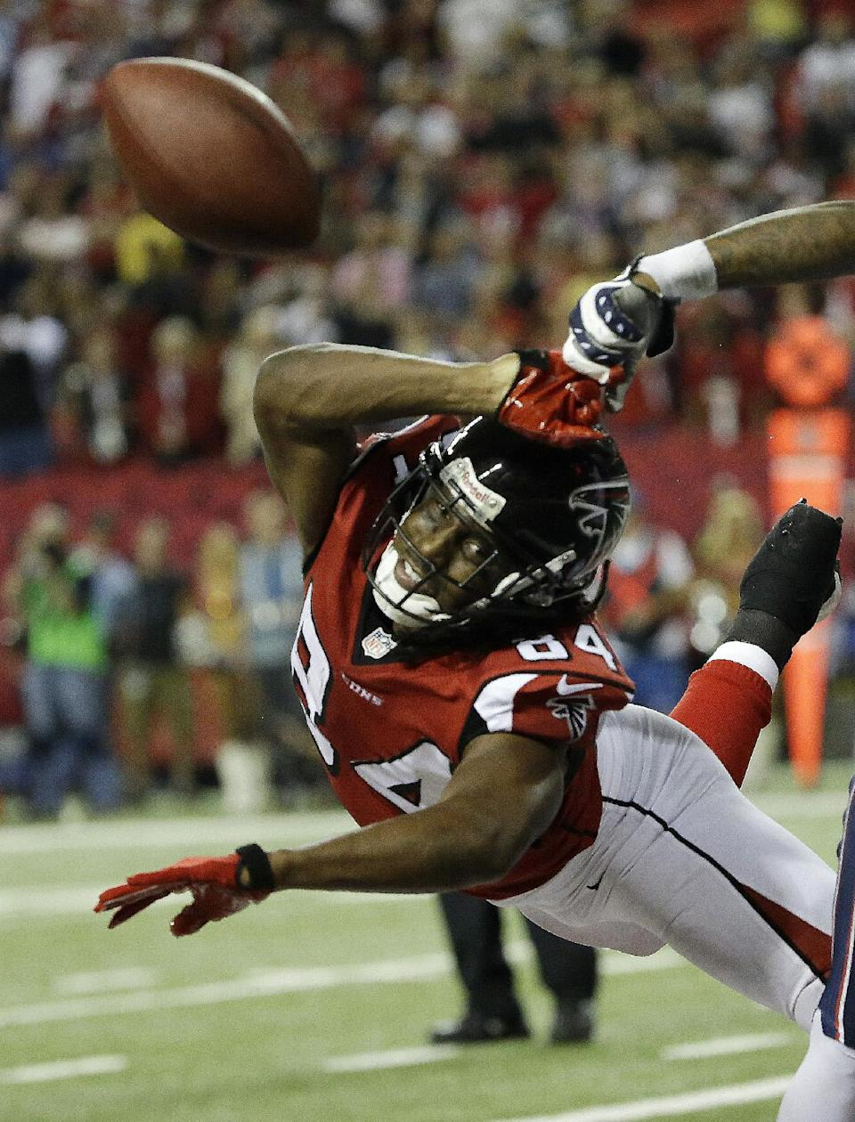 WR Roddy White to miss game for 1st time in career