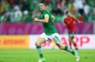 Robbie Keane to return for Republic of Ireland&#39;s World Cup qualifying tie against Faroe Islands