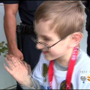 Make-A-Wish Lets 8-Year-Old Boy Step Into Emergency Responders' Shoes For A Day