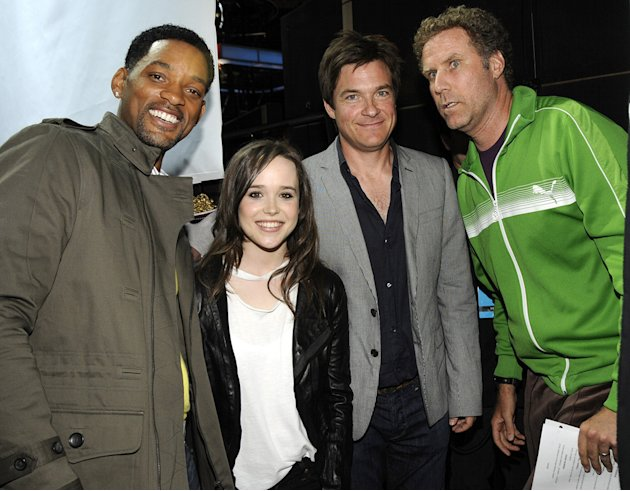 Will Ferrell Will Smith Ellen Page Jason Bateman 2008