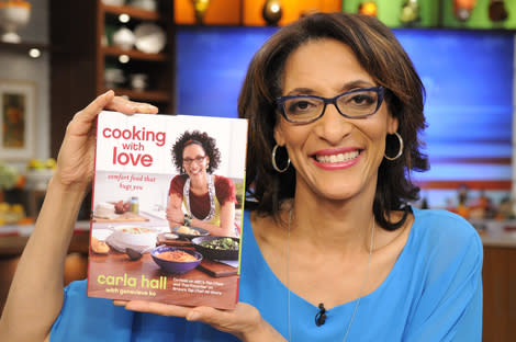 'The Chew's' Carla Hall releases her first cookbook