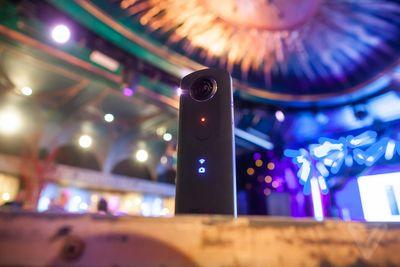 This camera makes it easy to shoot high quality 360-degree photos and video