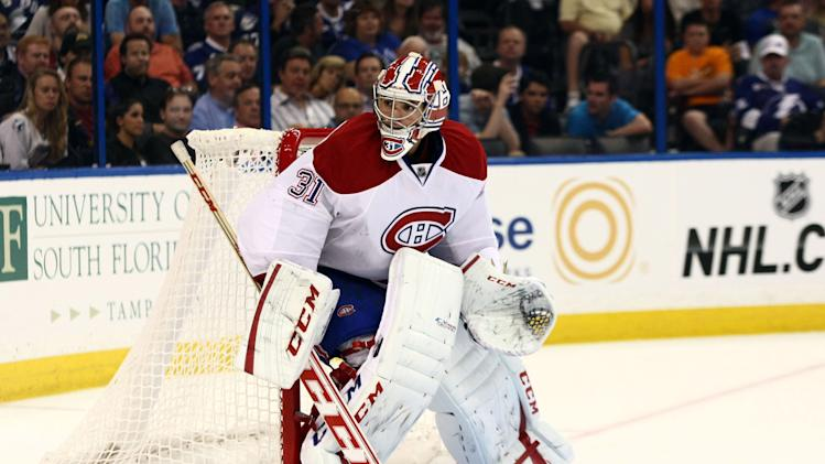 NHL: Montreal Canadiens at Tampa Bay Lightning