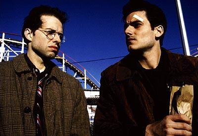 Jon Cryer as Daniel and Rick Stear as Stan in Phaedra's Went To Coney Island On A Mission From God...Be Back By Five