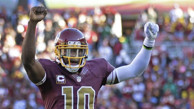 Ponder possibility of RG3 paired with Peterson