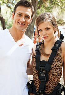 Ryan Lochte, AnnaLynne McCord | Photo Credits: Scott Humbert/The CW