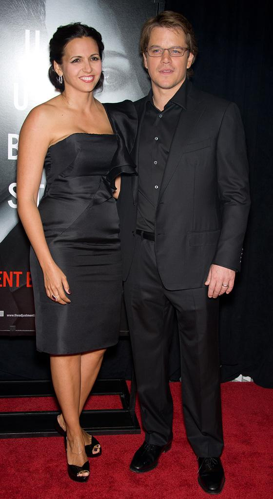 The Adjustment Bureau NY Premiere 2011 Matt Damon