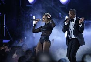 "Beyonce and Jay-Z perform ""Drunk In Love"" at the 56th annual Grammy Awards in Los Angeles"