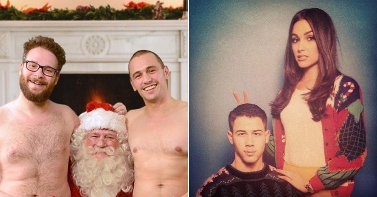 The 20 Best Celebrity Christmas Cards Ever