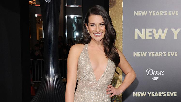 New Year's Eve LA Premiere 2011 Lea Michele
