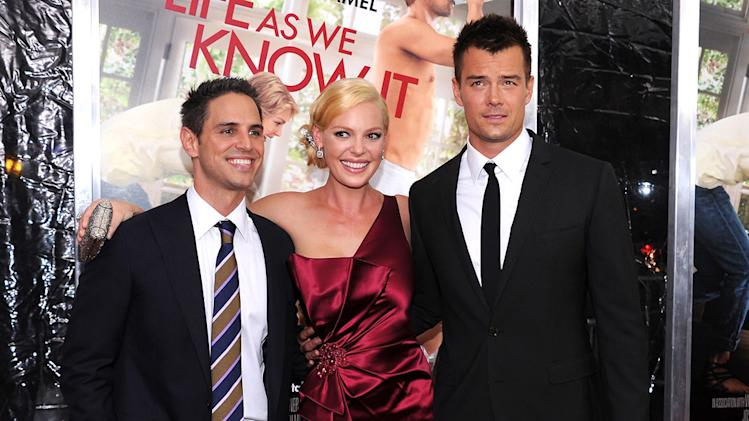 Life as We Know It NYC Premiere Greg Berlanti Katherine Heigl Josh Lucas
