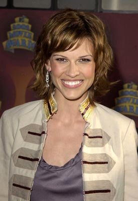 Hilary Swank MTV Movie Awards 6/1/2002