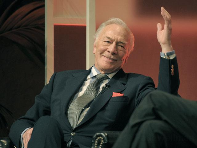 Christopher Plummer Praises Lady Gaga, 'Sound Of Music' And Cements New Hollywood Honor