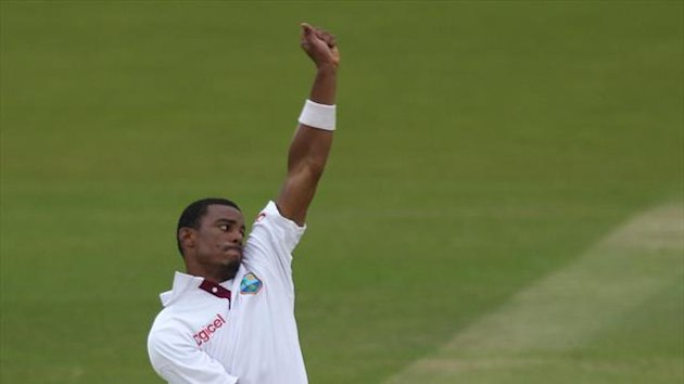 Shannon Gabriel was amongst the wickets on the first morning of the second Test