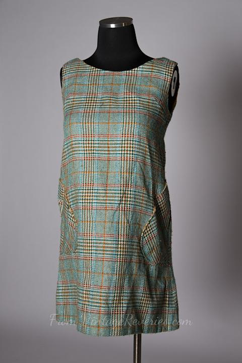 1960s Baby Doll Jumper Dress