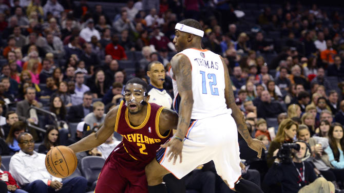 NBA: Cleveland Cavaliers at Charlotte Bobcats