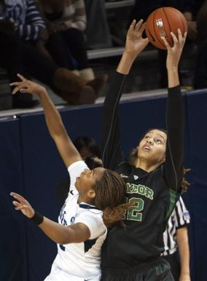 Griner leads Baylor women to 89-49 rout of Rice