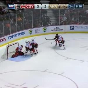 Jonas Hiller Save on Corey Perry (11:52/2nd)