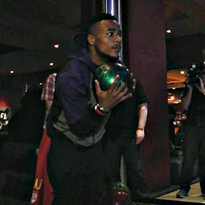 Yikes!  Alabama's Christion Jones Attempts To Bowl