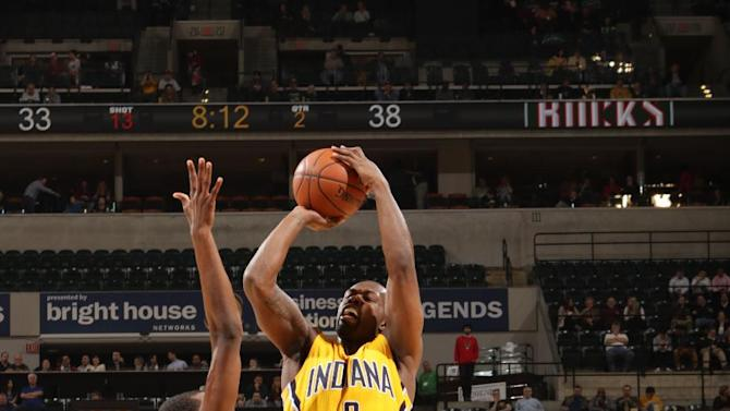 Rodney Stuckey scores 25 points, Pacers beat Bucks in OT