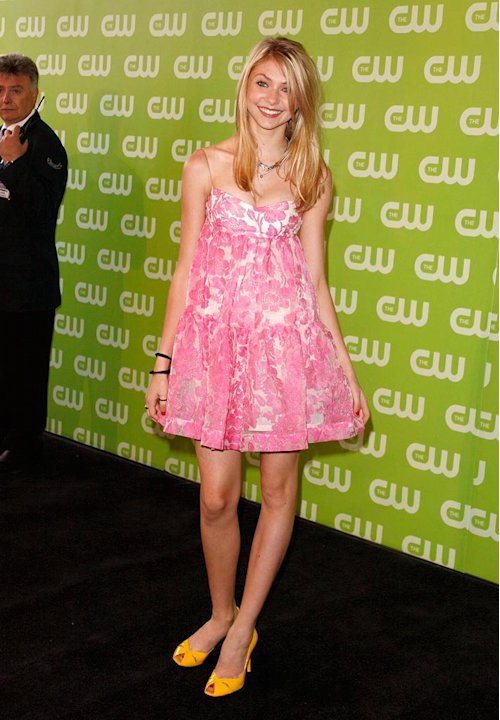 Taylor Momsen at The 2007 CW Network  Upfront. 