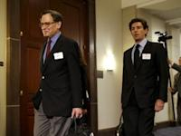 Blumenthal arrives to be deposed in private session of the House Select Committee on Benghazi at the U.S. Capitol in Washington