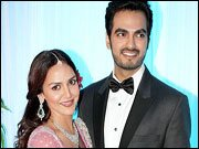 Esha Deol-Bharat Takhtani's wedding reception a grand affair