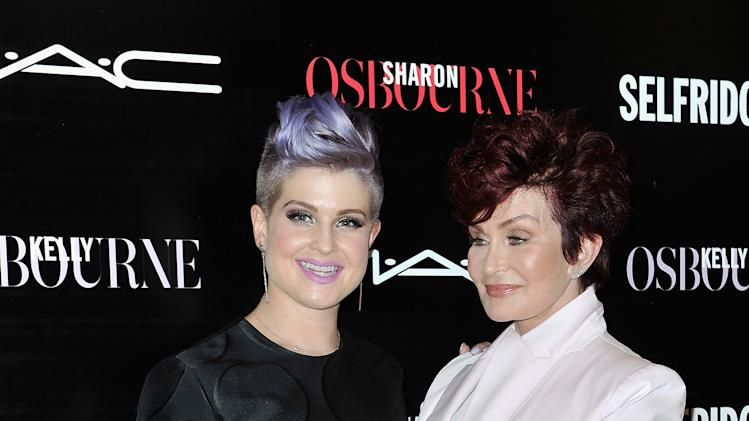 Sharon And Kelly Osbourne Launch Mac Collection In London ...