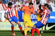 Laporan Pertandingan: Atletico Madrid 1-2 Barcelona