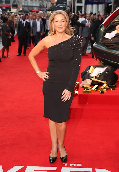 Claire Sweeney The Sweeney UK film premiere held at the Vue cinema - arrivals London, England - 03.09.12     Mandatory Credit: Lia Toby/WENN.com