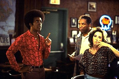 Tim Meadows as Leon with John Witherspoon as Scrap Iron and Jill Talley as Candy in Paramount's The Ladies Man