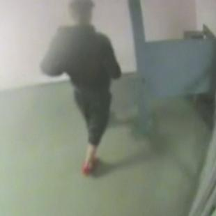 Miami police video of Justin Bieber giving a urine sample