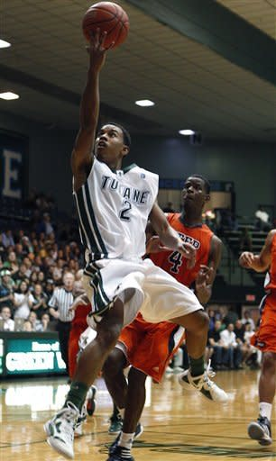 Tarrant scores 22 as Tulane beats UTEP 66-58