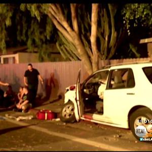3 Injured In Costa Mesa Street Racing Accident