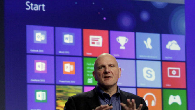 Where do I click, again? A guide to Windows 8
