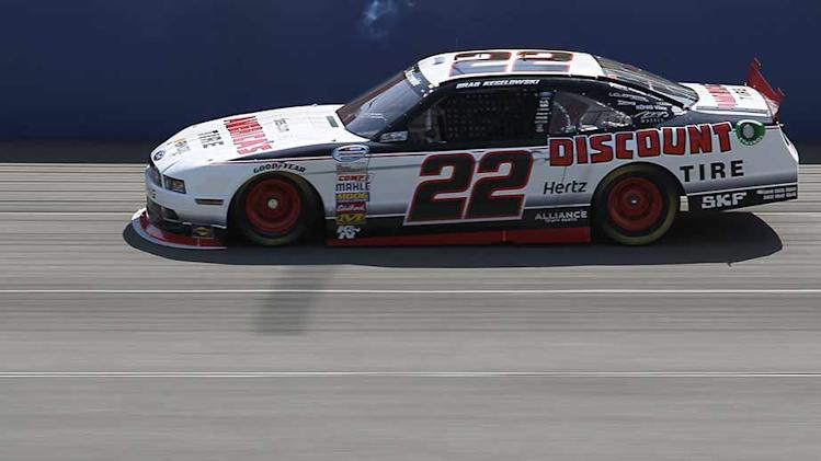 Keselowski fastest in Nationwide practice