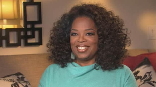 Oprah Winfrey speaks with Access Hollywood's Shaun Robinson on September 17, 2013 -- Access Hollywood