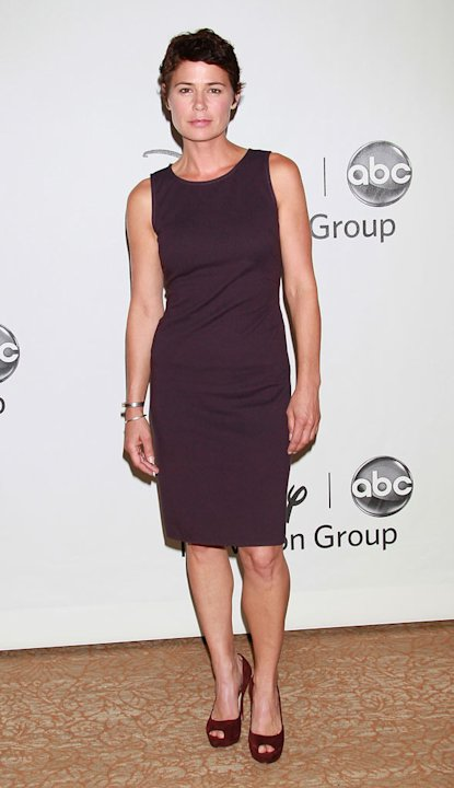 &quot;The Whole Truth's&quot; Maura Tierney arrives at NBC Universal's 2010 TCA Summer Party on July 30, 2010 in Beverly Hills, California. 
