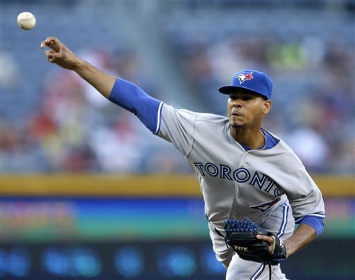 4 Toronto pitchers combine for 3-0 win over Braves