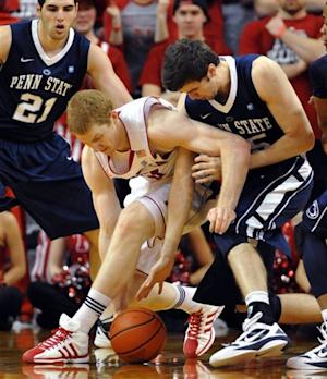 Nebraska tops Penn State 70-58 for 1st Big Ten win