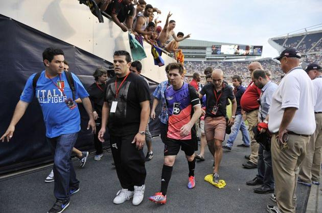 Fans who paid $2,500 to meet Lionel Messi at match in Chicago left feeling scammed