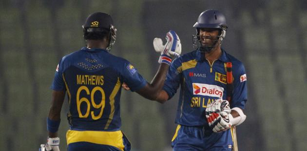 Mathews takes Sri Lanka into the final unbeaten