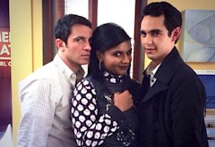 Chris Messina, Mindy Kaling, Max Minghella | Photo Credits: Mindy Kaling